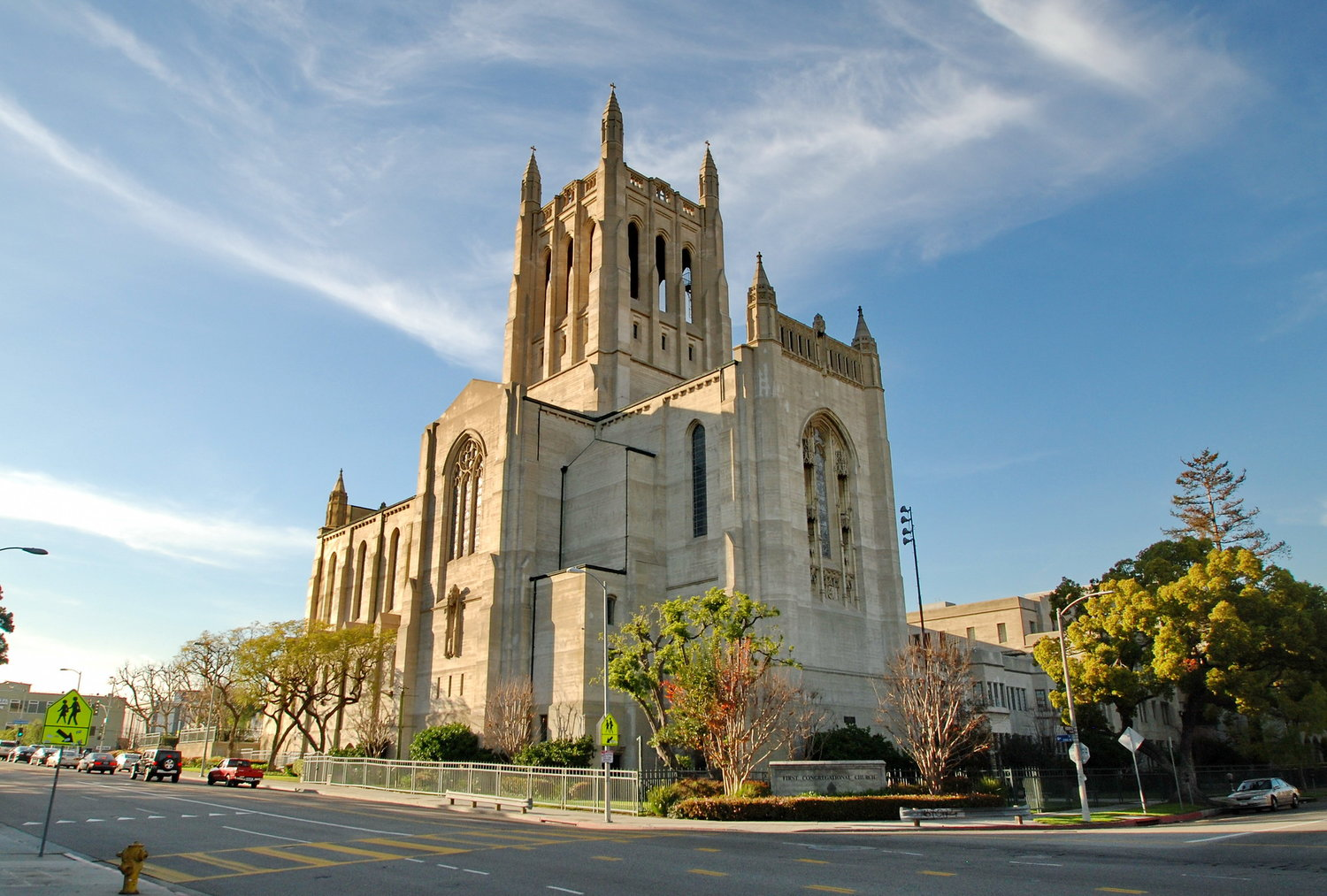 Photo taken from www.fccla.org of  The First Congregational Church of Los Angeles