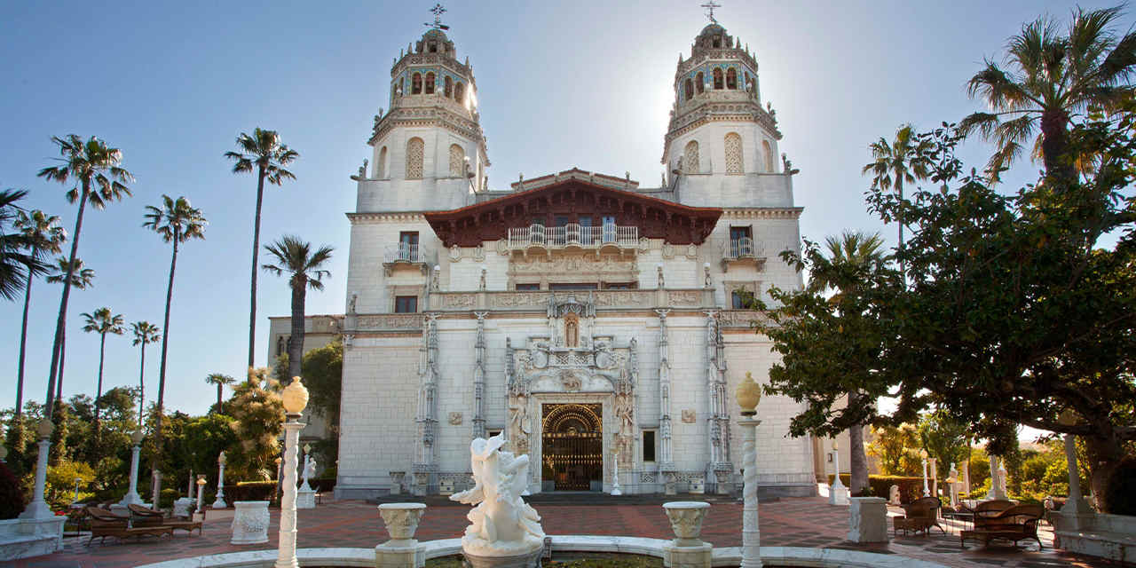 Photo taken from www.visitcalifornia.com of the Historic, World Famous,  Hearst Castle