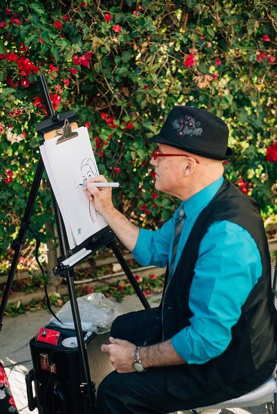 caricature artist
