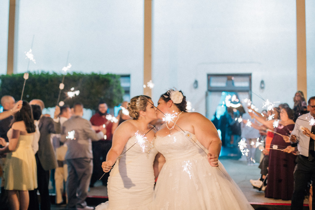 best lesbian wedding in Long Beach