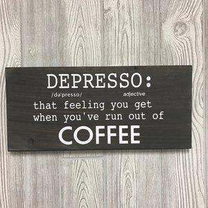 "16""x7.25"" | Depresso | $30"
