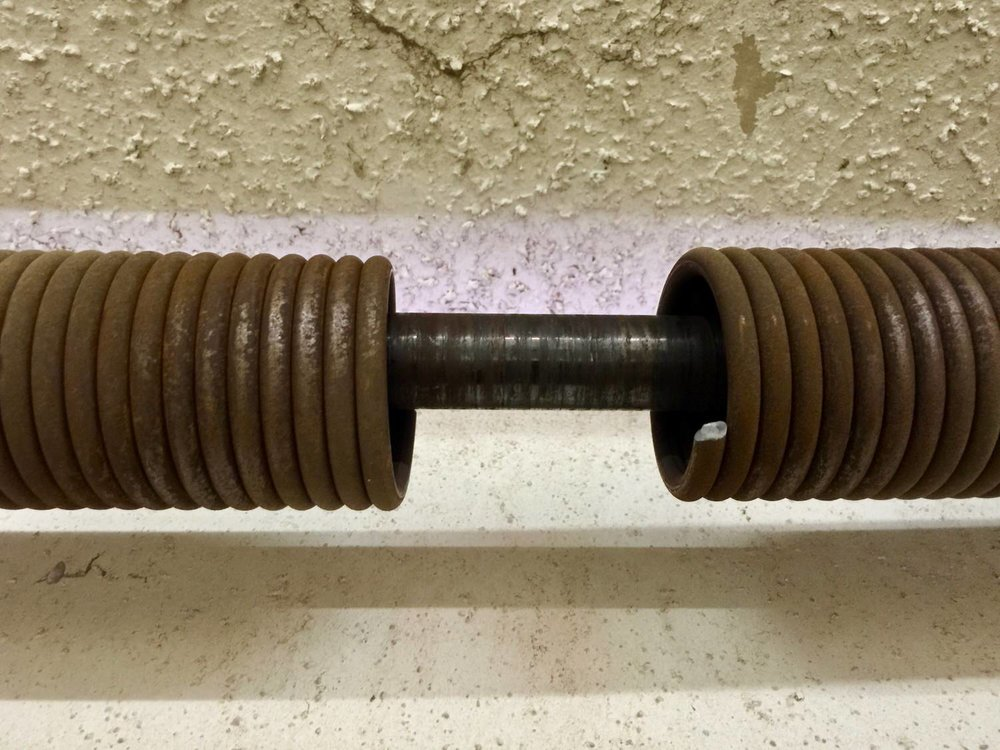 Garage door springs. Nothing worse than broken garage door springs when you need to leave your home. With same day service, and our technician trucks full stocked, we can replace that broken spring on the spot.
