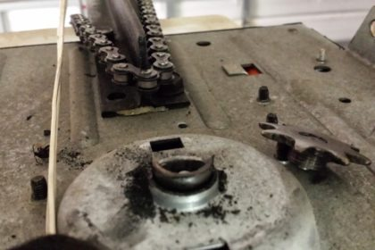 Broken garage door chain? Chances are your chain is just fine. If the gear is under too much pressure, it may snap the gear sprocket head. Just like everything else, our trucks are full stocked for this situation.