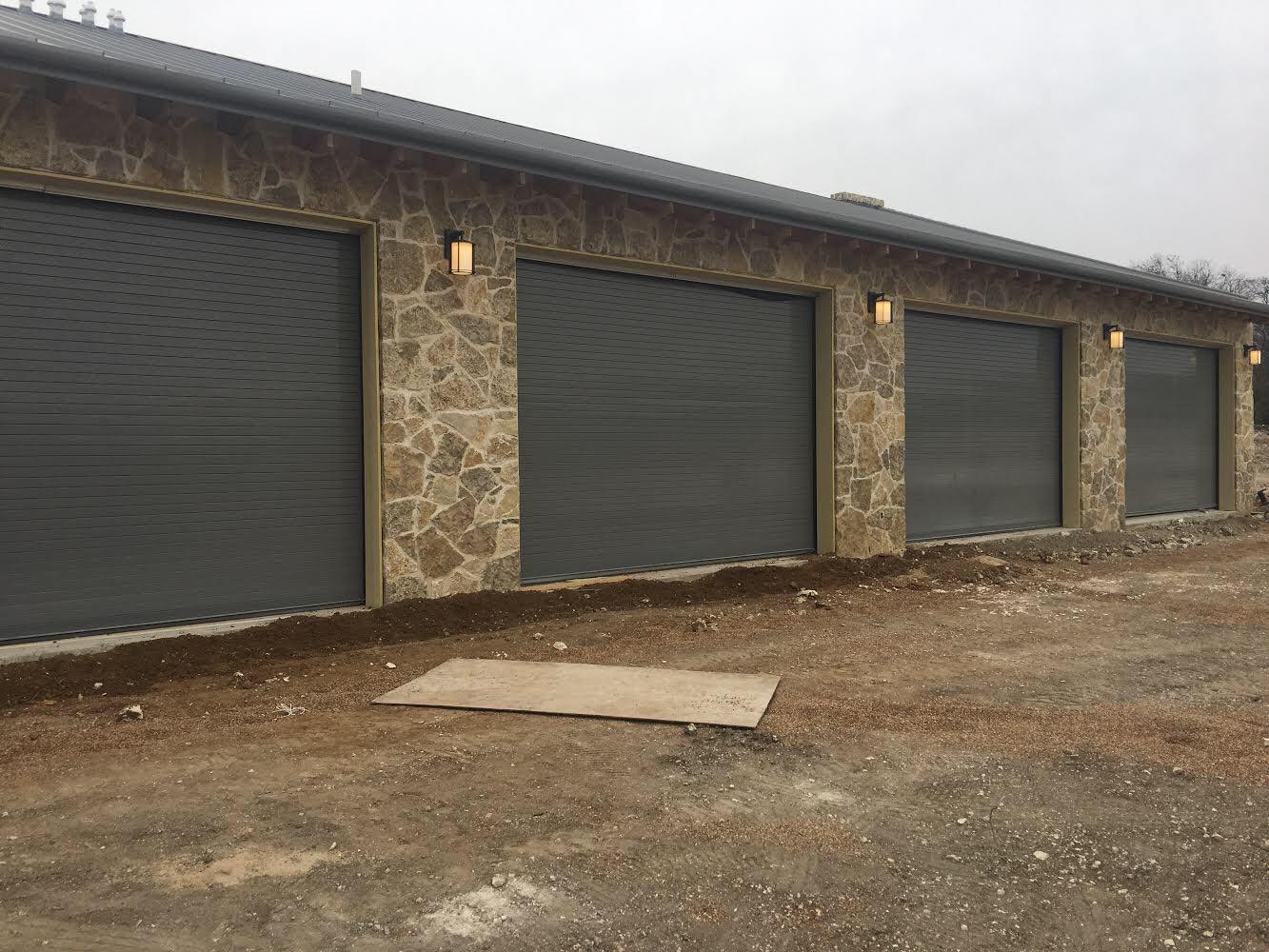 Rolling Doors - Service doors provide security against entry as well as protection from weather at exterior and interior openings in industrial, commercial, institutional and other buildings. These doors are made from slats of formed galvanized steel, aluminum or stainless steel that roll up to store in a coil above an opening.