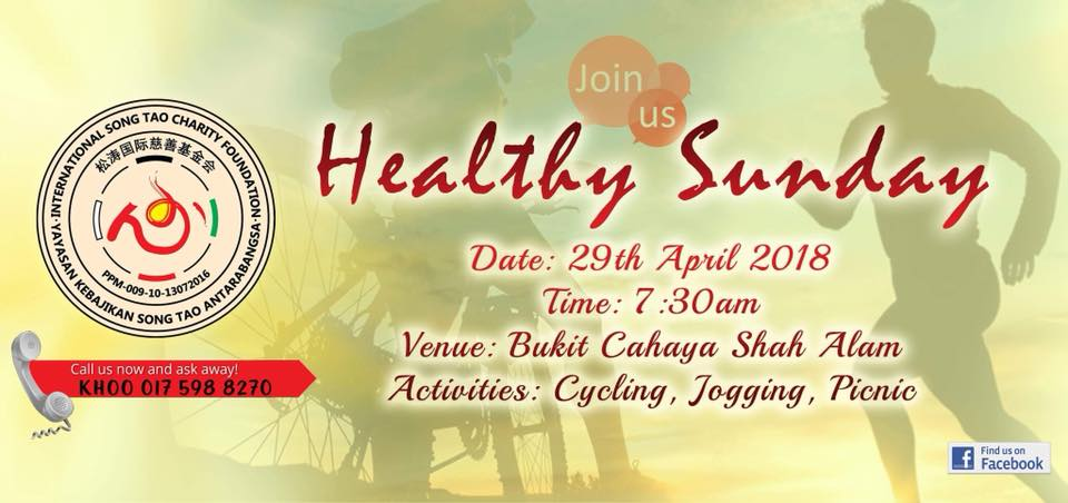 """"""" Healthy Sunday """" outing activity - an event that has brought us closer to the nature and get to do something that we like, together as a family!""""  Stay tuned for more information on our upcoming events!"""