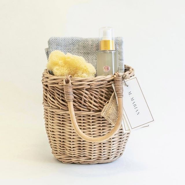 From our new wellness collection, self care gifts in beautiful baskets that can be repurposed. We use no bubble wrap or any plastic in our packaging, and the basket itself is as much a part of the gift as what's inside so there's nothing that goes in the trash.