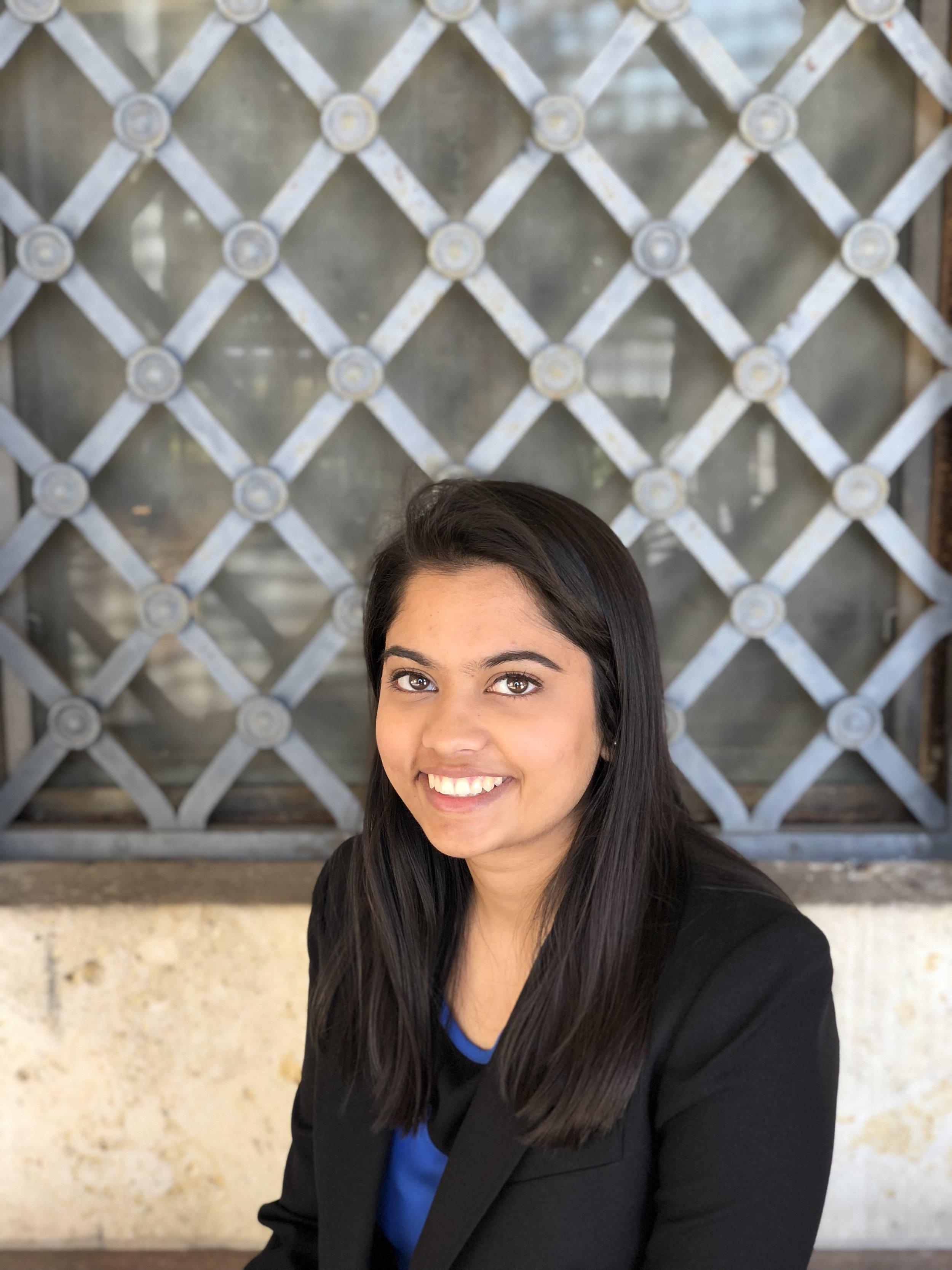 Dhwani Dawar, Research Intern