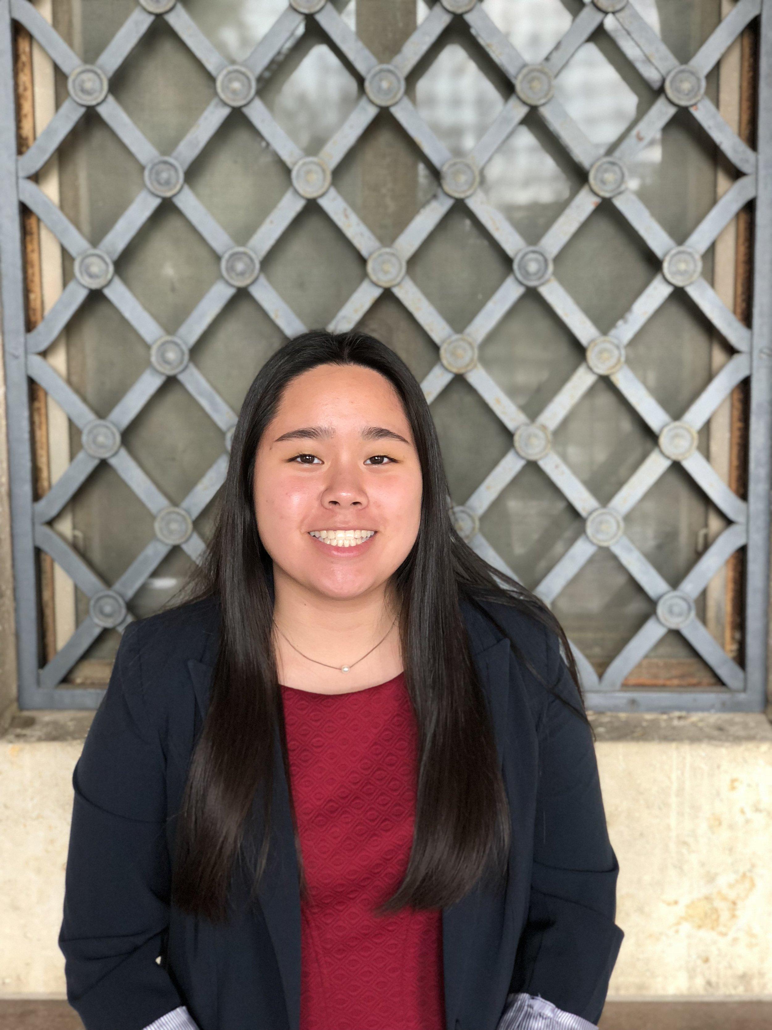 Madeline Ho, Advocacy Intern