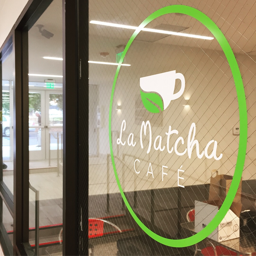 La Matcha Cafe-Window Decal