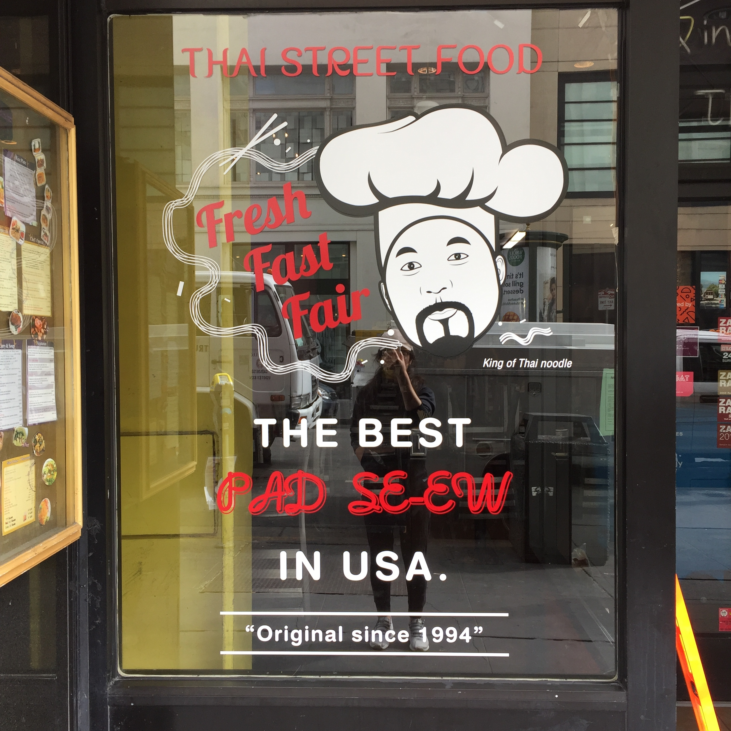 King of Thai Noodle House-Window Decal