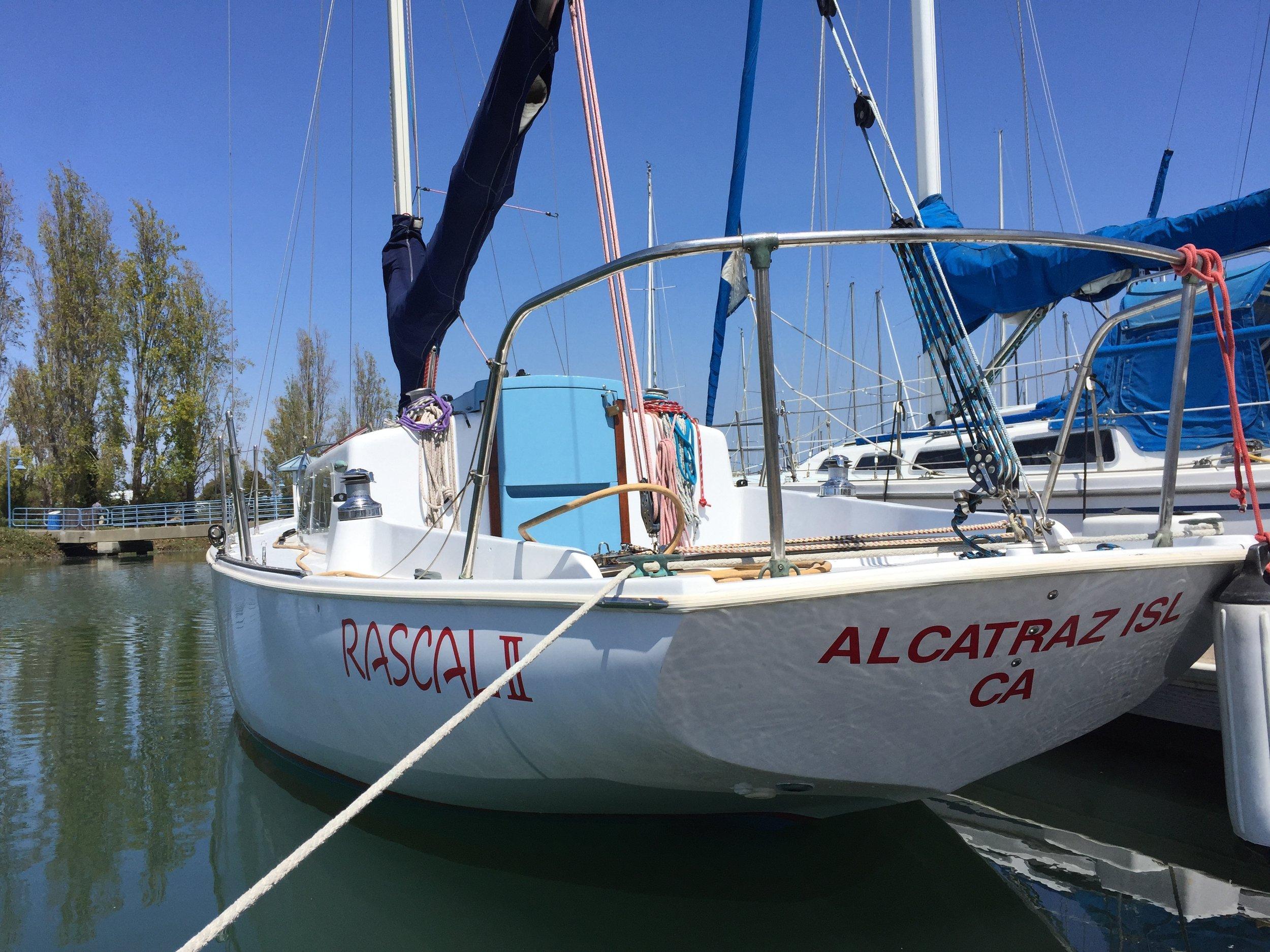 RASCAL Ⅱ - Boat decal