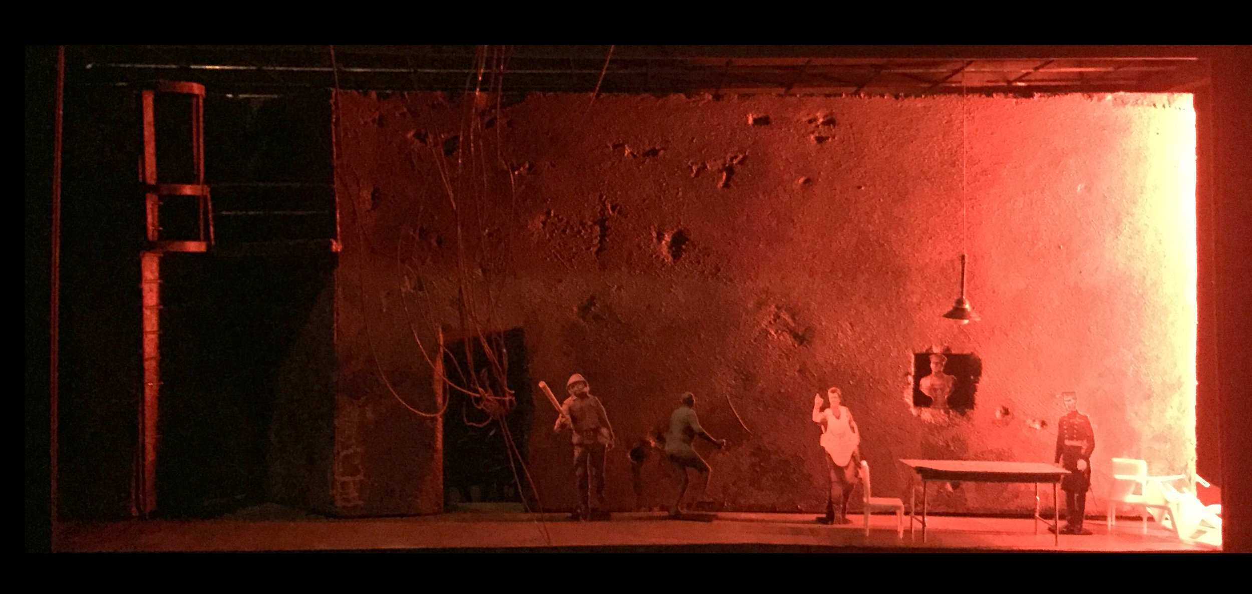 IN THE PENAL COLONY  by Philip Glass  based on the novella by Franz Kafka   A proposed production for the Irene Diamond Theater   Scenic Design by Andrew D. Moerdyk