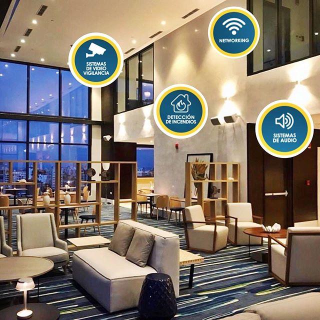 Ya abrió sus puertas el moderno y céntrico hotel @homewoodsantodomingo !!! Agradecidos de haber formado parte de este gran proyecto!! Éxitos 👏🎉!!! . . . #homewoodbyhilton #santodomingo #nowopen #proyectos #calidad #Symantel #SabemosComo