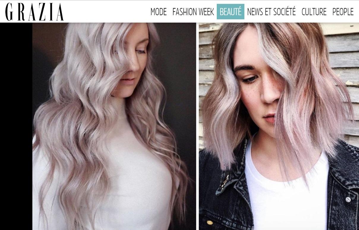 """Grazia.FR - """"Vanille Lilas : l'automne a trouvé sa coloration tendance"""""""