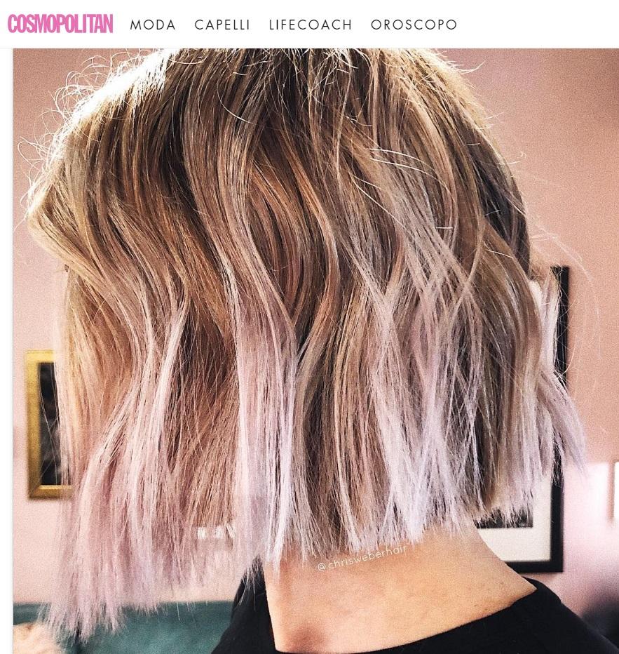 """Cosmopolitan.IT - """"Colore capelli autunno 2018, il Vanilla Lilac è la giusta versione di viola che stavi cercando"""""""