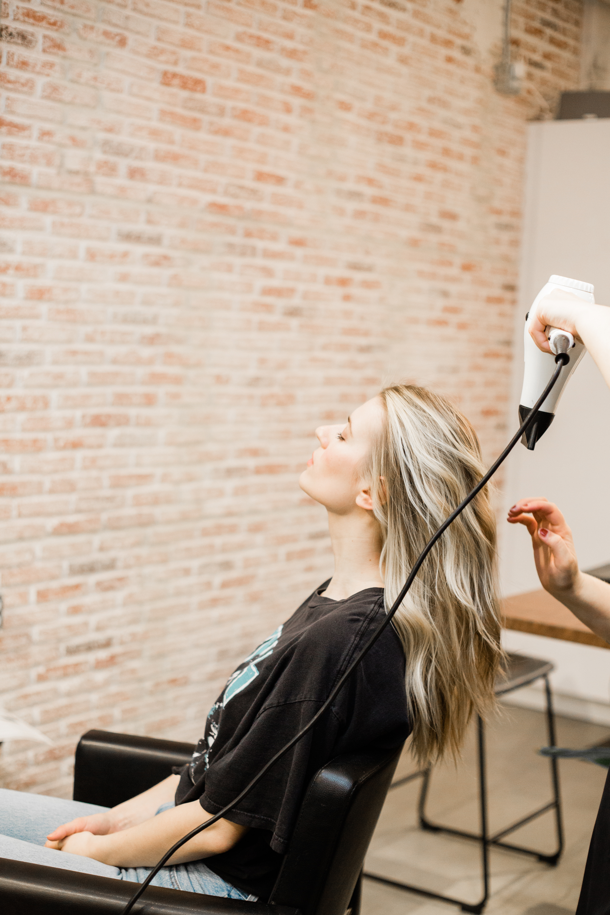 Blow-Dry-Styling