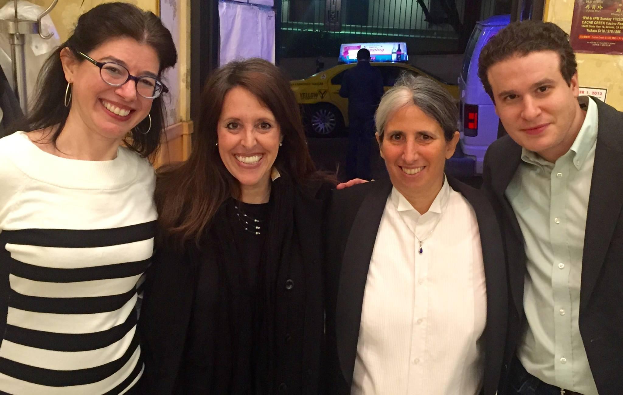 Dana Eagle, Wendy Liebman, Lisa Geduldig, Mike Fine, 2015