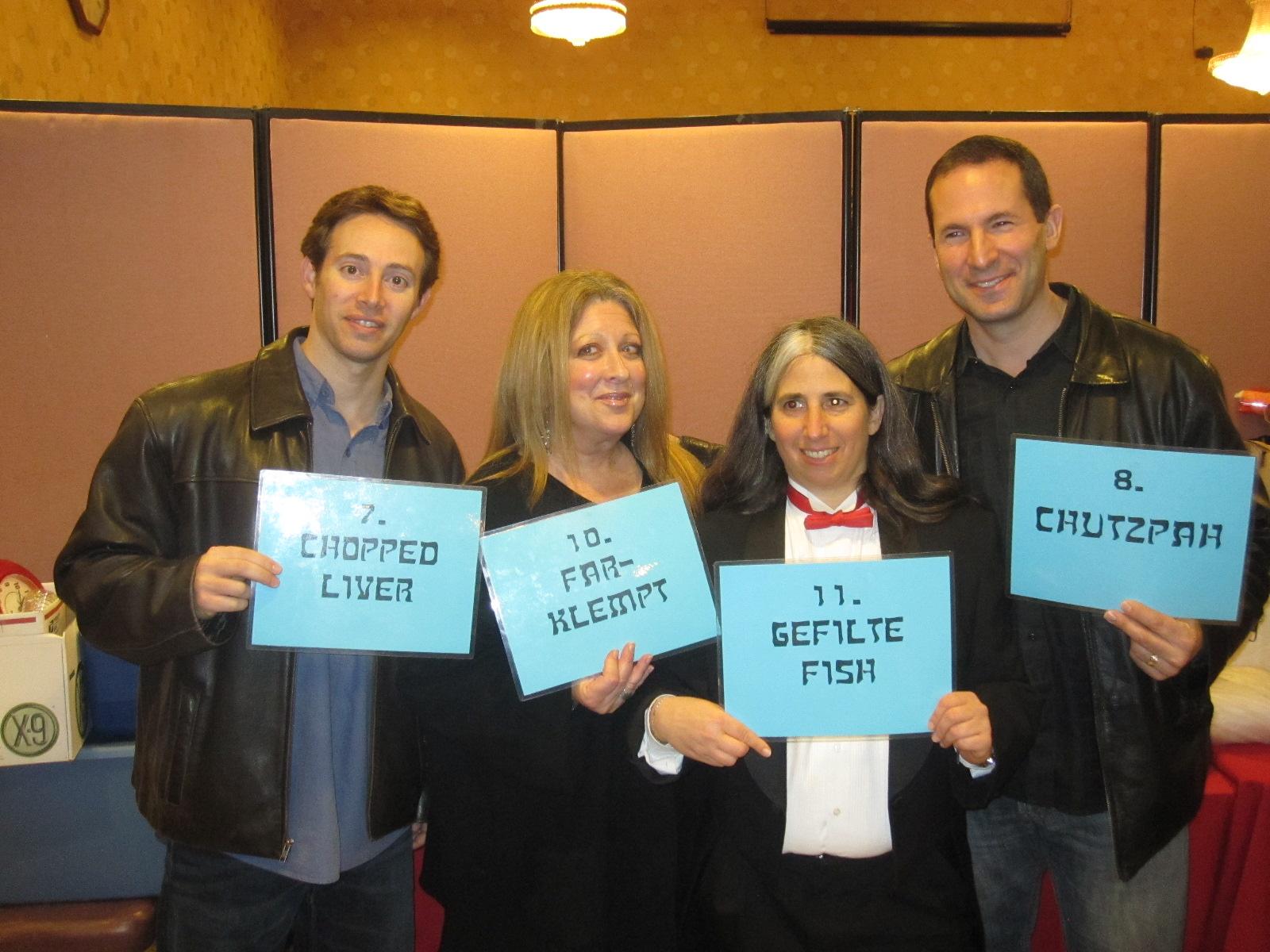 Avi Liberman, Elayne Boosler, Lisa Geduldig, Jeff Applebaum, 2011