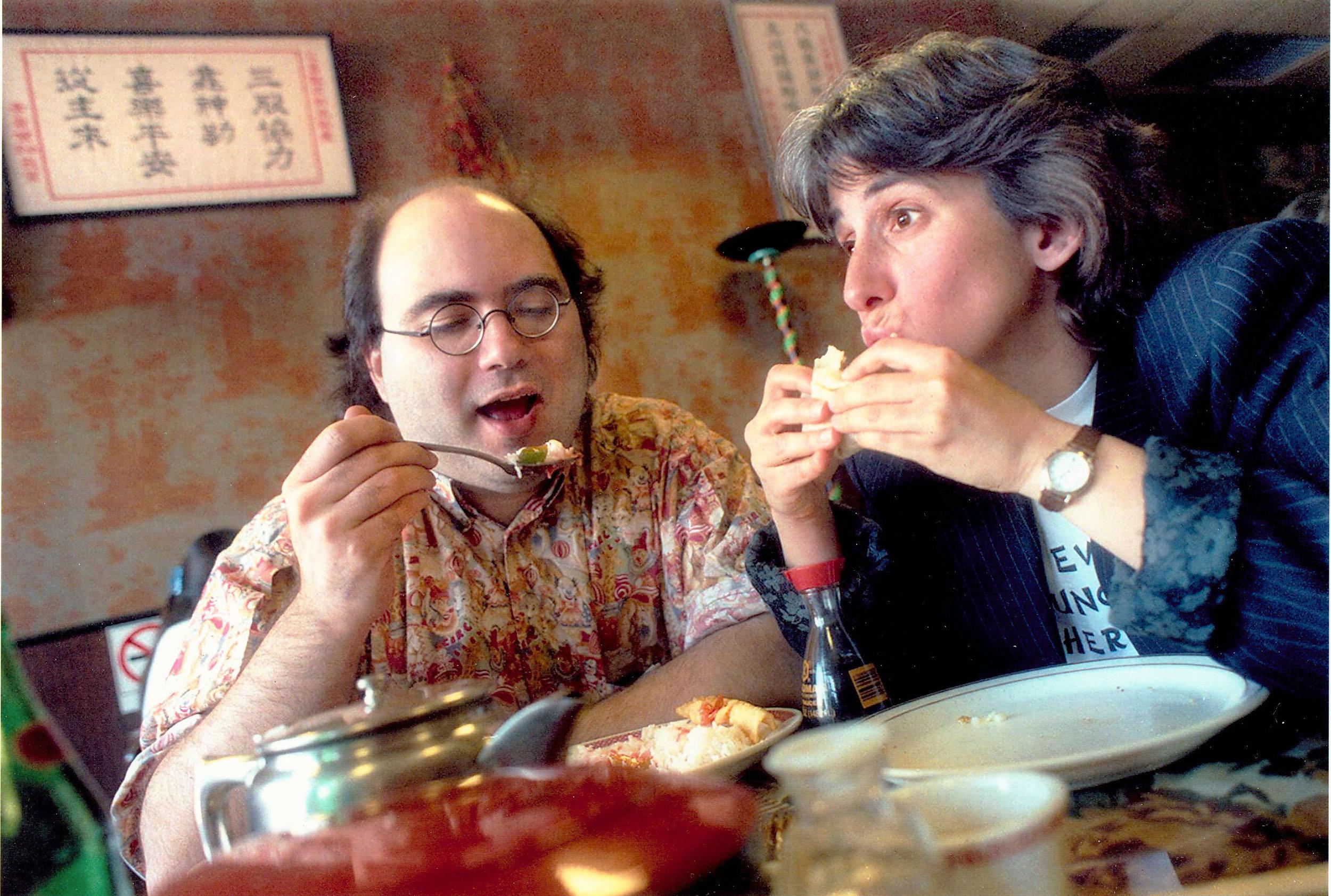 Josh Kornbluth and Lisa Geduldig, 1996