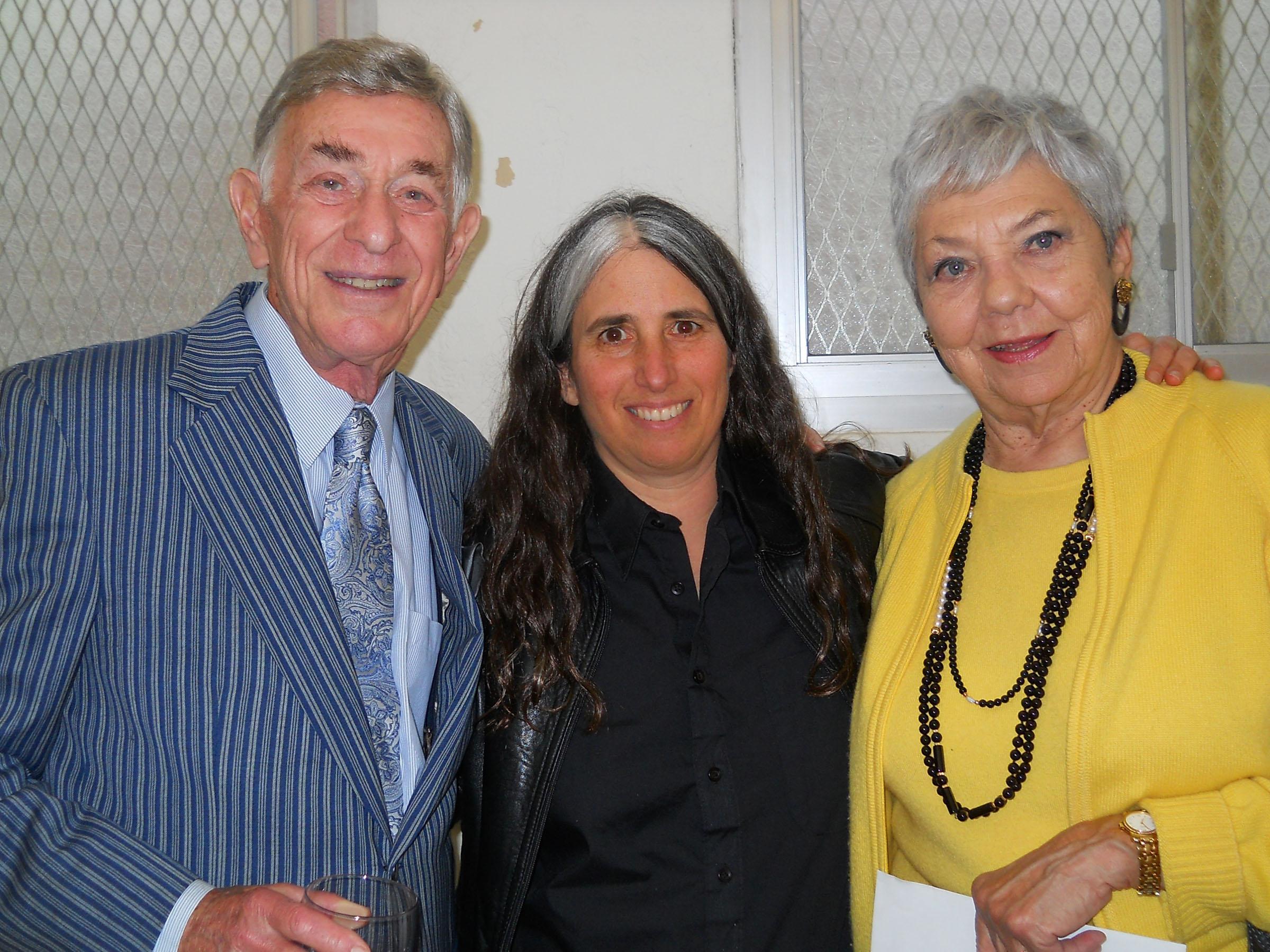 Shelley Berman, Lisa Geduldig, Sarah Berman, 2007
