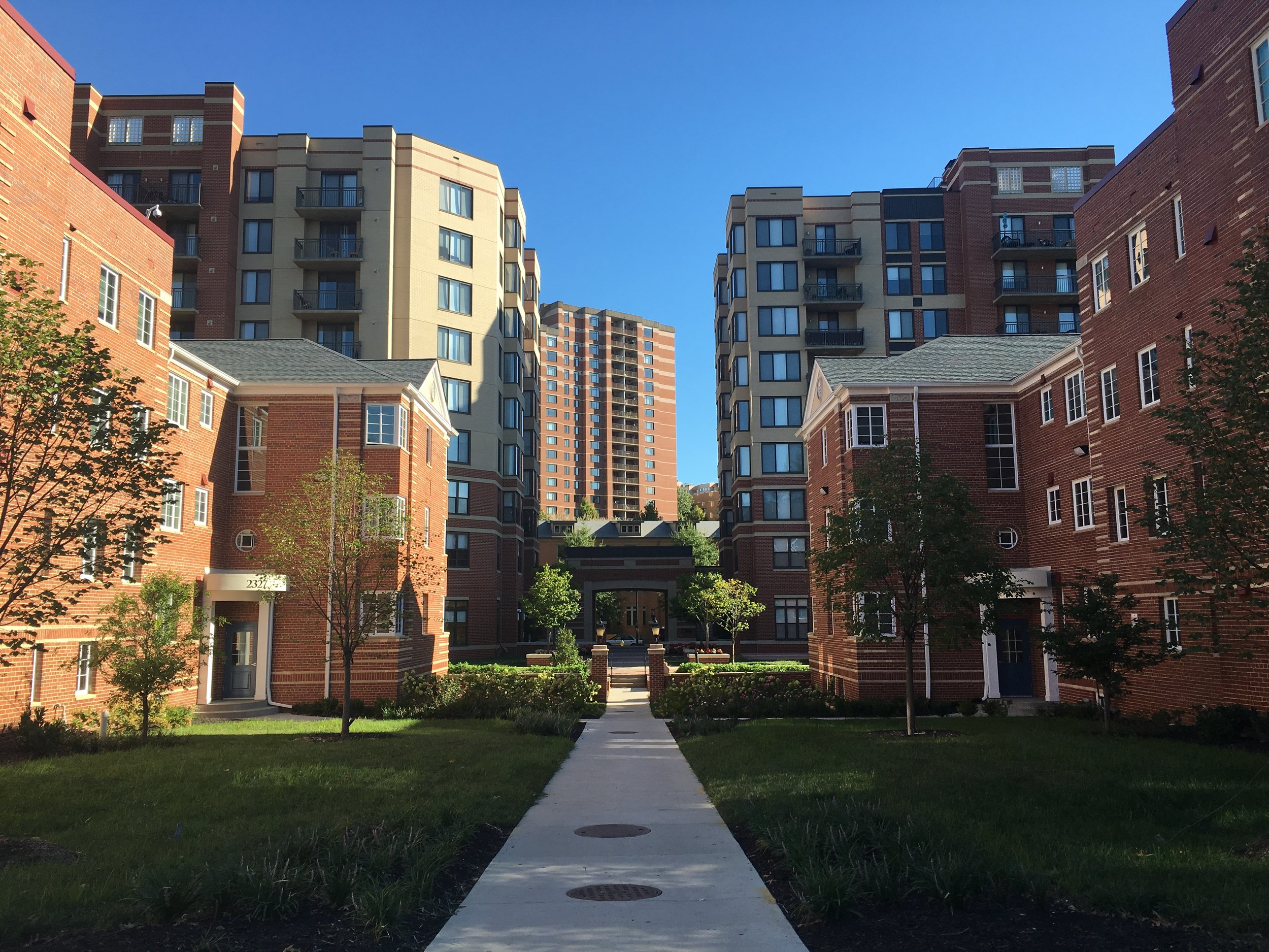 The Frederick at Courthouse is an AHC Inc. Apartment Community.