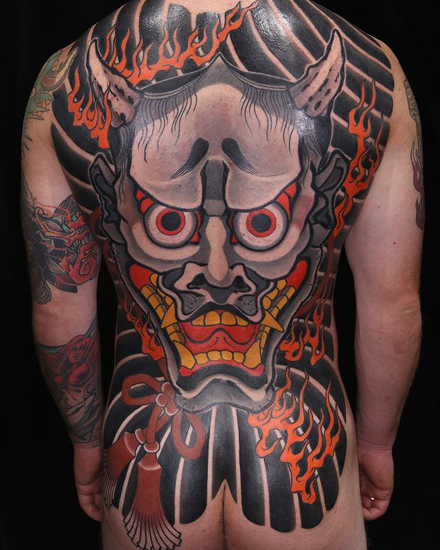 Jacks back finished! Thanks man @daggerandlark