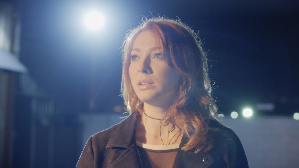 Kate Spare in GIRL CODE - Production Still