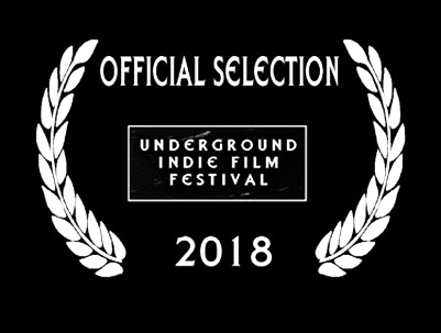 UNDERGROUND INDIE FILM FESTIVAL - June 3rd, 2018. Apopka, FL.AWARD:Best Short Film
