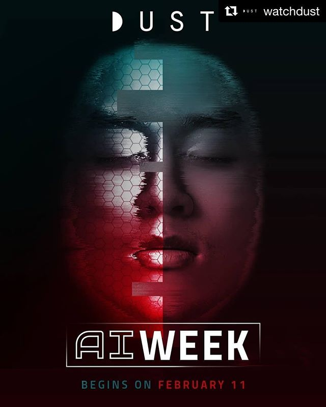 "Watch The Manual on @watchdust as part of A.I. Week on Feb 13th.  #Repost @watchdust with @get_repost ・・・ Starting Feb 11th,  we're dedicating an entire week to Artificial Intelligence. We'll have 4 new short films, including one based on a script written by AI. We're also presenting the full-length documentary called ""More Human Than Human"" - don't miss out, follow AI Week on DUST. #ArtificialIntelligence #AIweek #DUST . .. ... .... ..... .... ... .. . #scifi #sciencefiction #specialpresentation #glitchart #pixelsorting #glitch #scifiart #robots #humanity #poster #posterart #scifiposters #movieposters #comingsoon #robotics #autonomous #artificial #intelligence #siri #googeduplex"