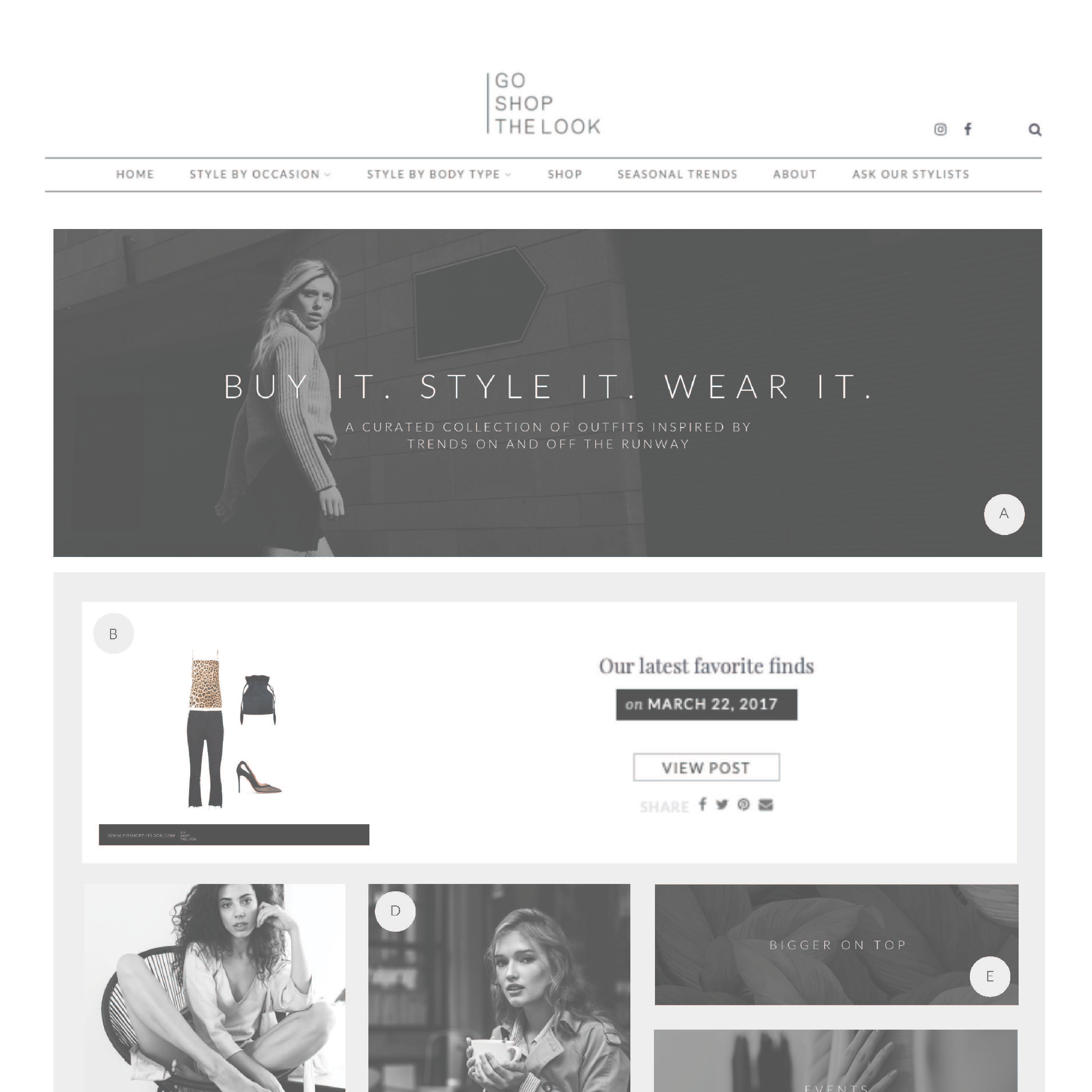 Website Elements