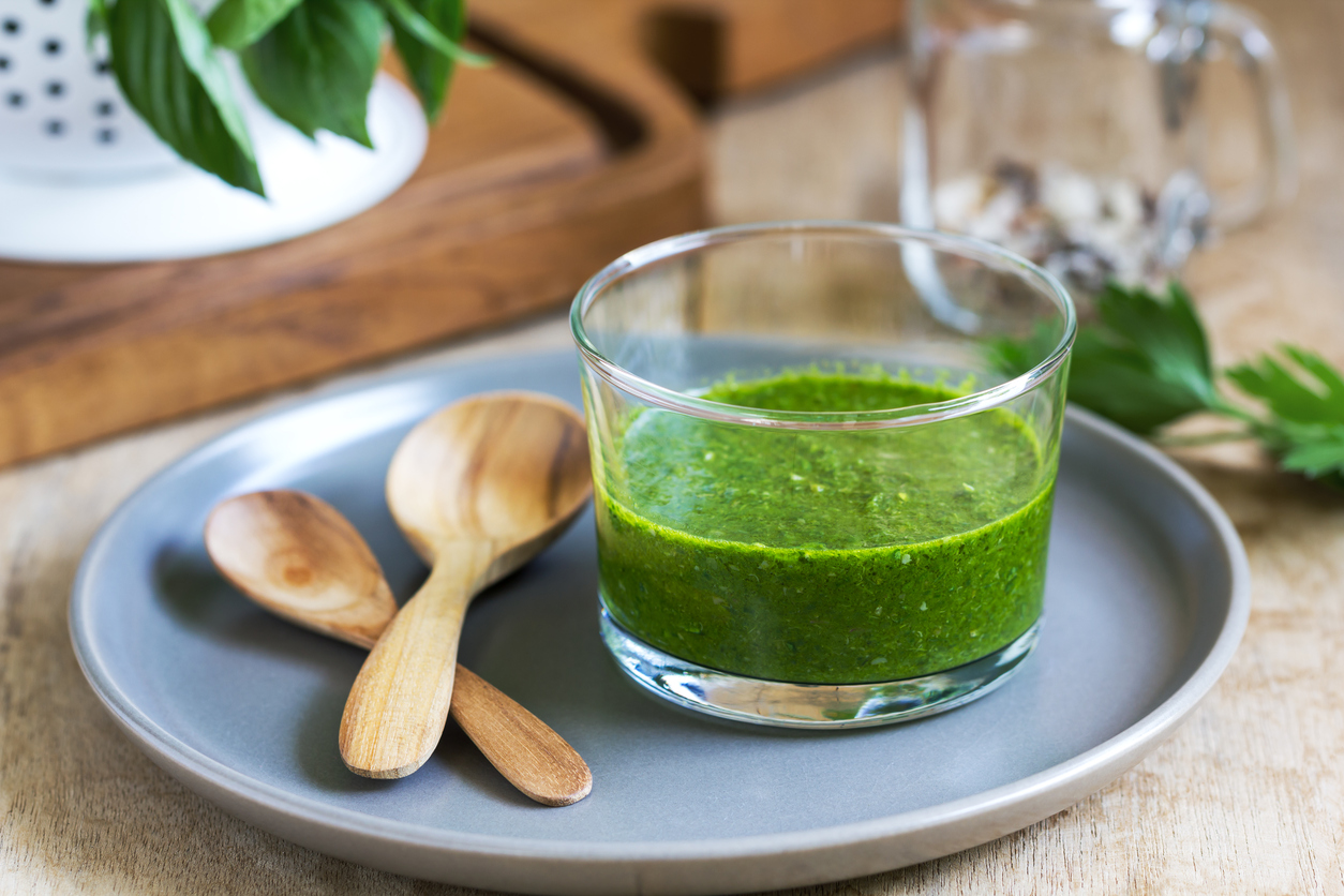 GREEN GODDESS SALAD DRESSING - FOLATE PROTEIN OMEGA 3s