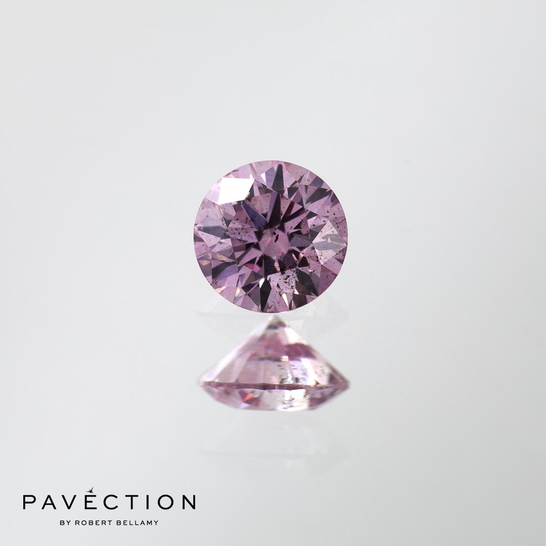 0.30ct 6PP I1 Round Brilliant Cut Argyle Diamond