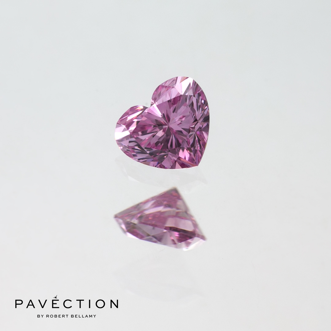 0 carat 15 point 5pp vvs1 Heart cut purple pink argyle diamond Pavection robert bellamy brisbane city designer jewellery jewelry jewellers jewelers custom made.jpg