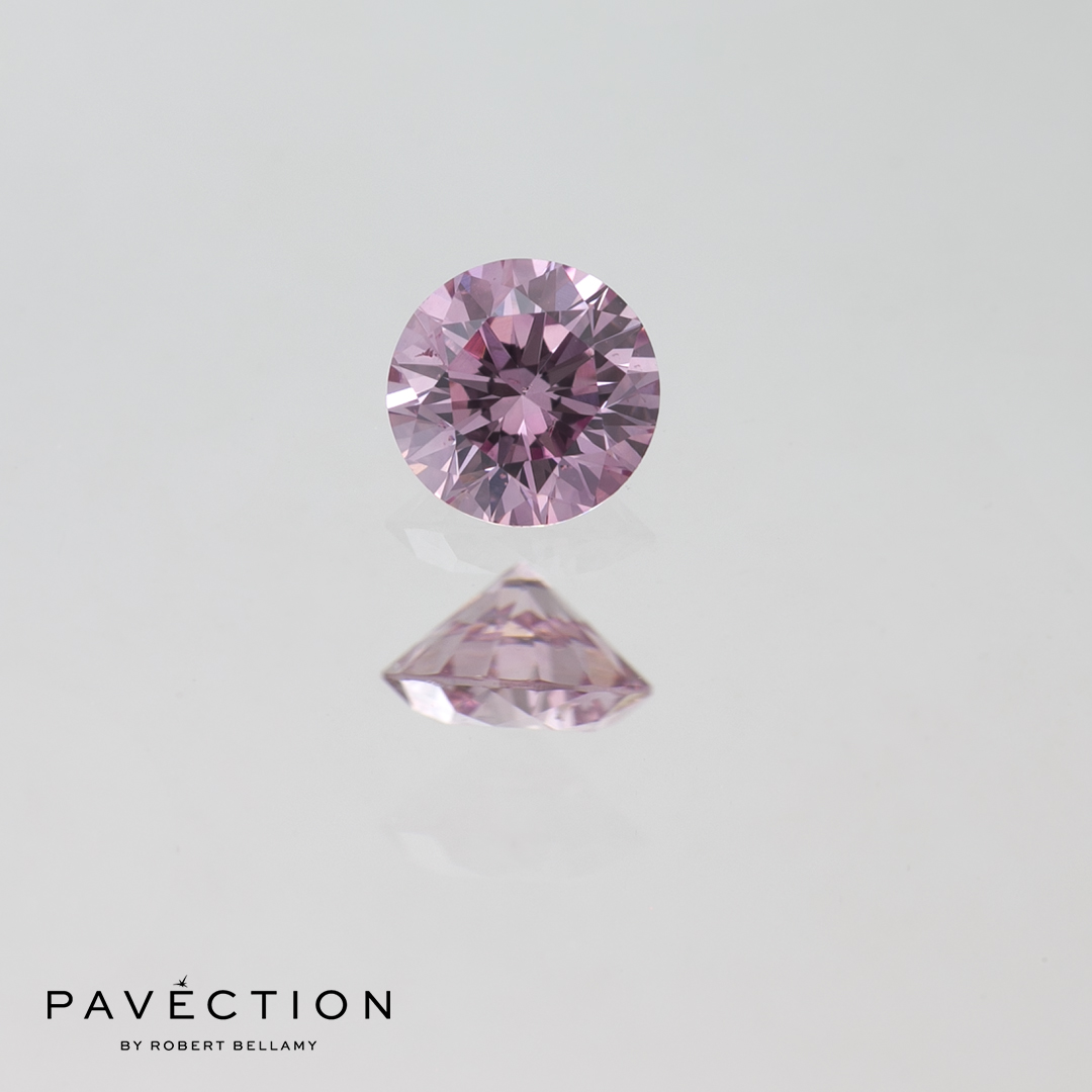 0 carat 20 point 6pp I1 pink round brilliant cut diamond Pavection robert bellamy brisbane city designer jewellery jewelry jewellers jewelers custom made.jpg