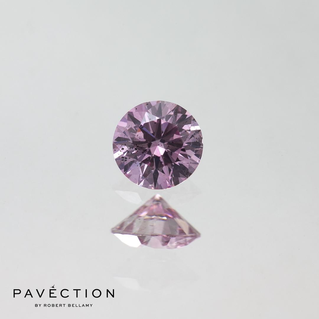 0 carat 30 point 6PP I1 purplish pink round brilliant cut argyle diamond Pavection robert bellamy brisbane city designer jewellery jewelry jewellers jewelers custom made.jpg