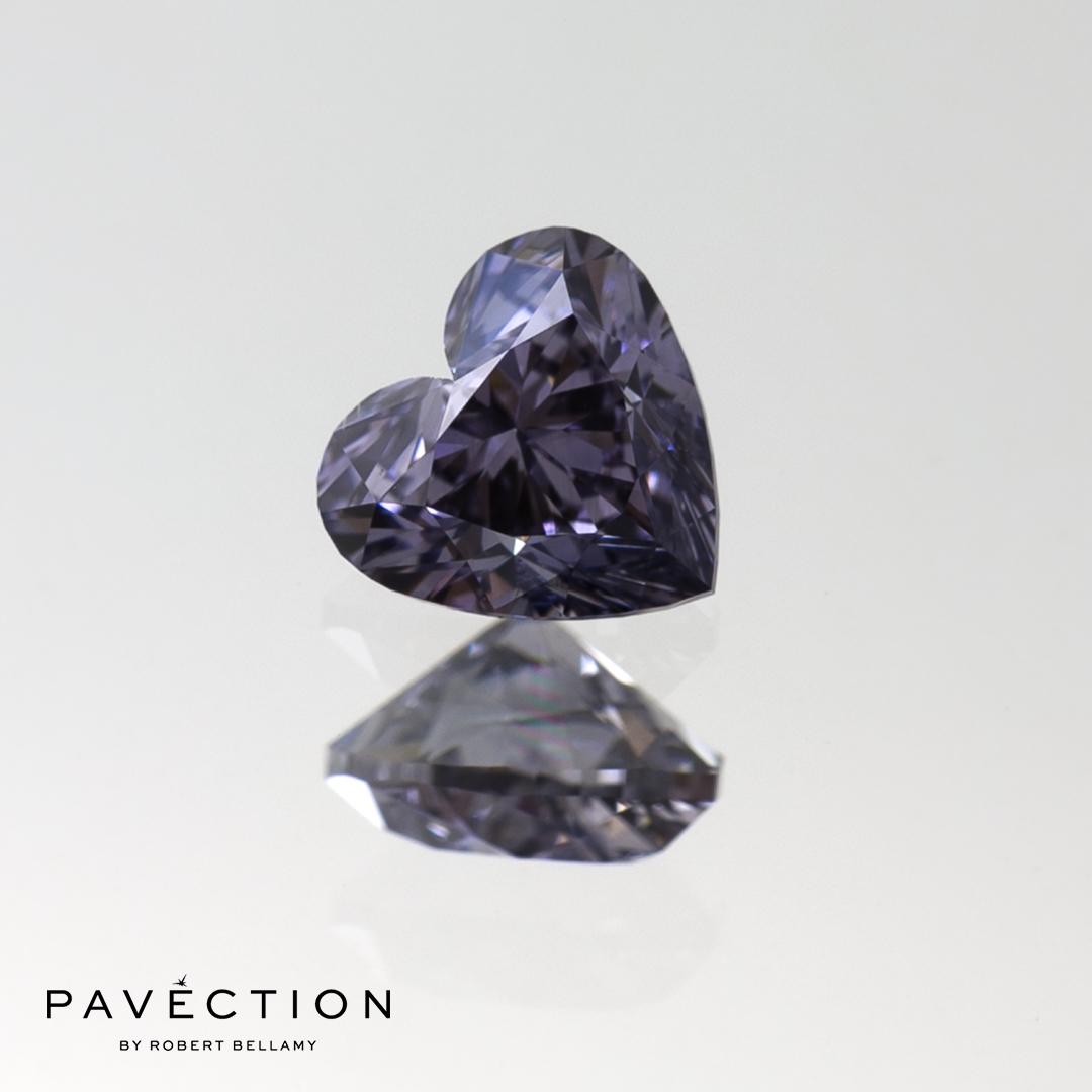 Lot 7 2017 Argyle Tender 0 carat 62 point BL2 Vs2 Heart cut blue diamond Pavection robert bellamy brisbane city designer jewellery jewelry jewellers jewelers custom made.jpg