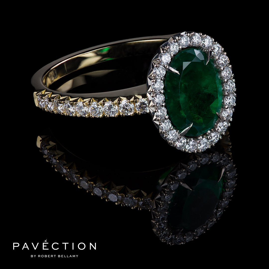 pavection-robert-bellamy-oval-shape-natural-emerald-bespoke-designer-cocktail-dress-engagement-ring-brisbane-gold-coast-syrney-melbourne-city-jeweller-jeweler.jpg