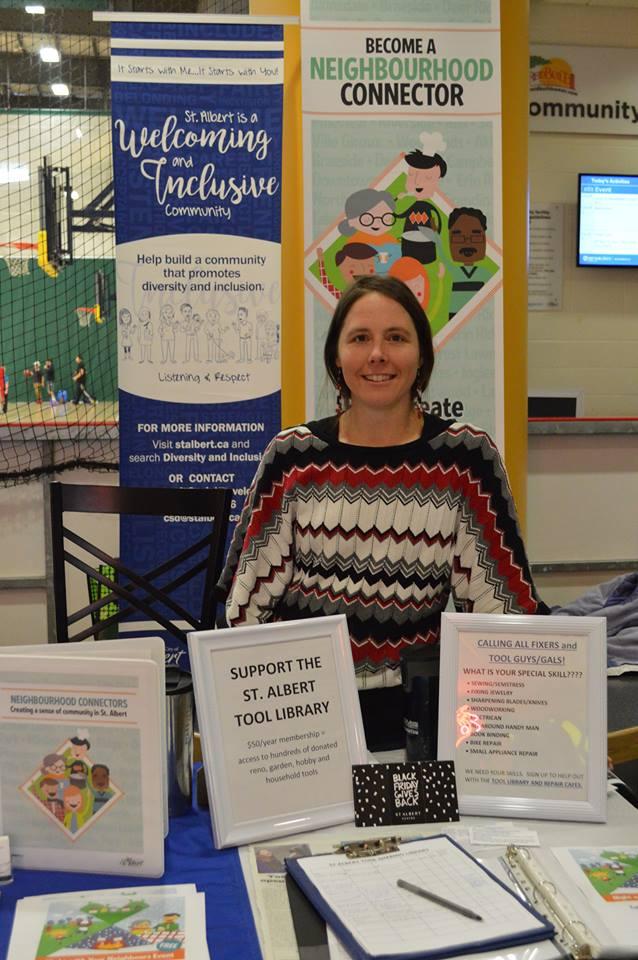 Bridgit at the CIVC Volunteer Fair