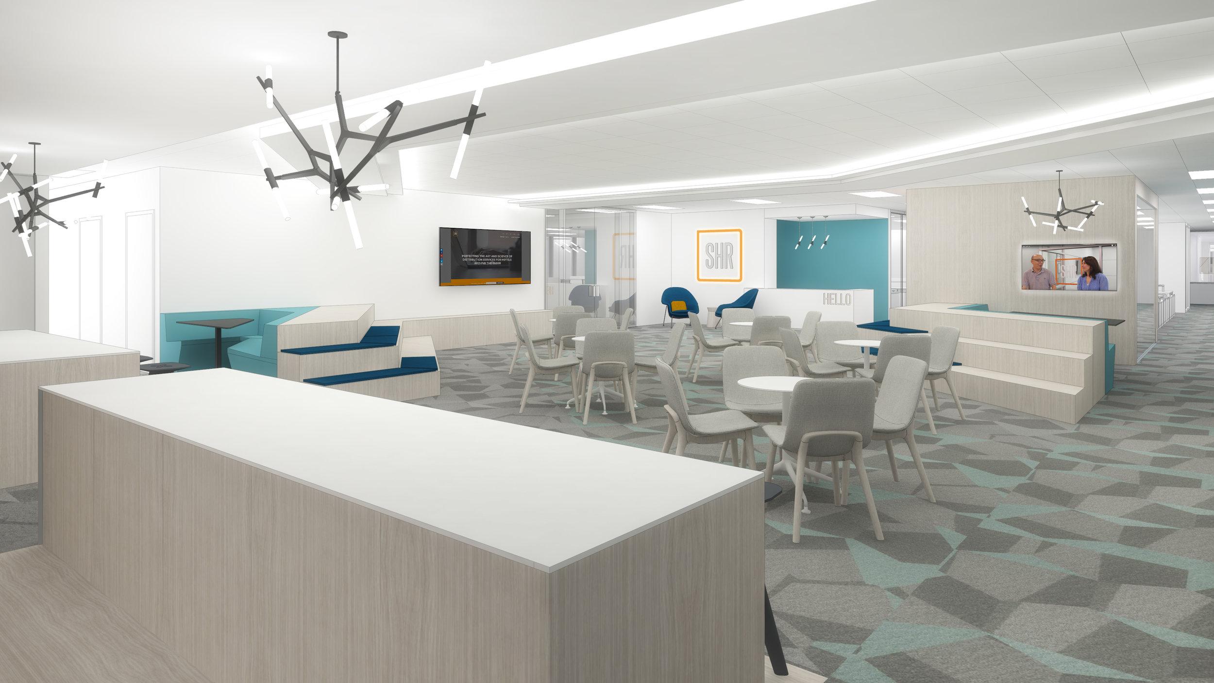 (1/4) Tech Company Headquarters -Tenant Improvements