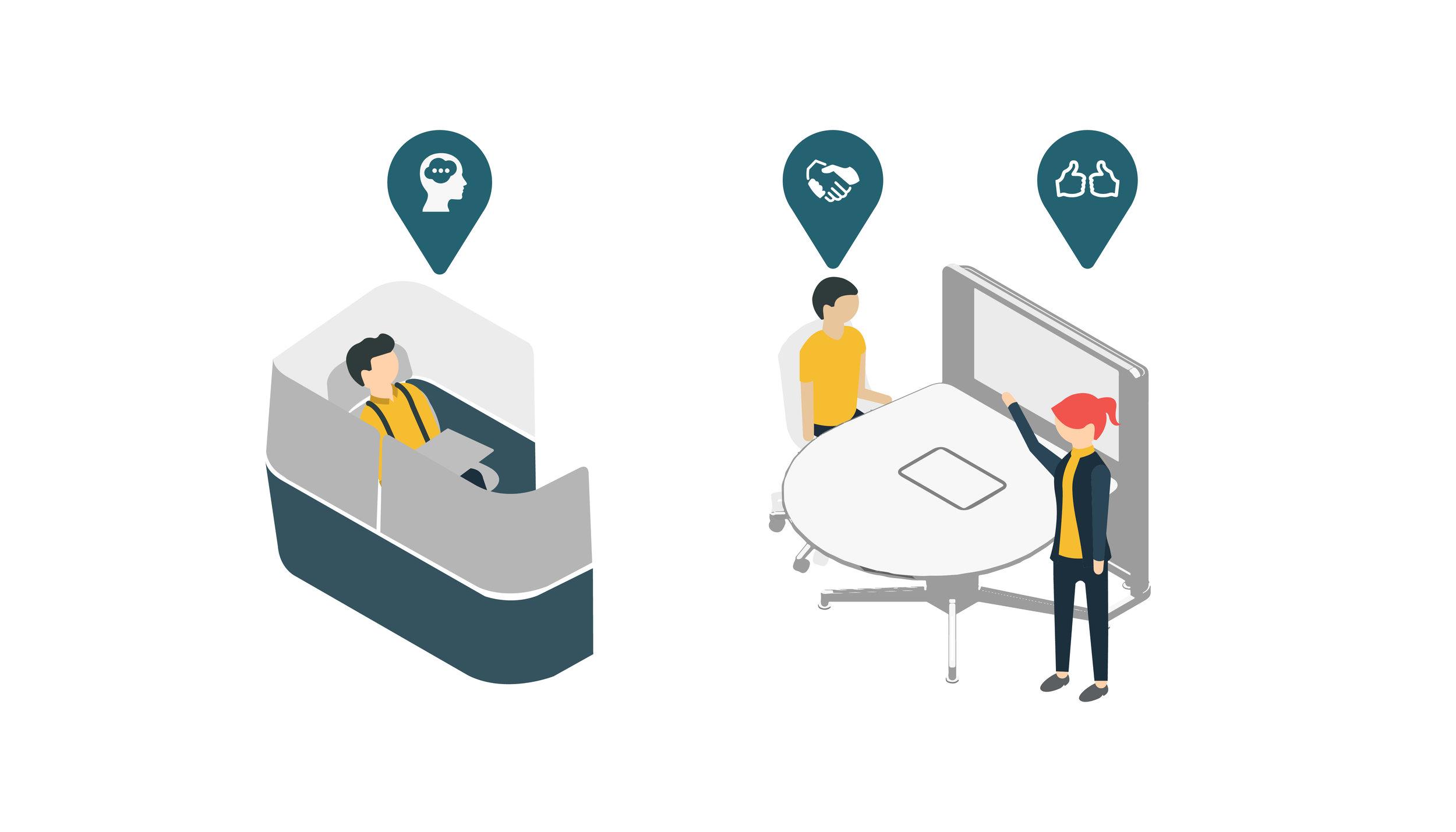 "(6/6) ""A Modern Workspace"" - Infographics"