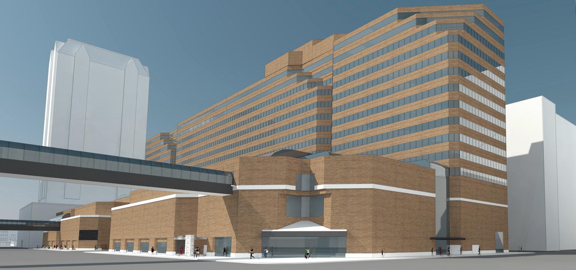 (2/7) Houston Center - Campus Renovation