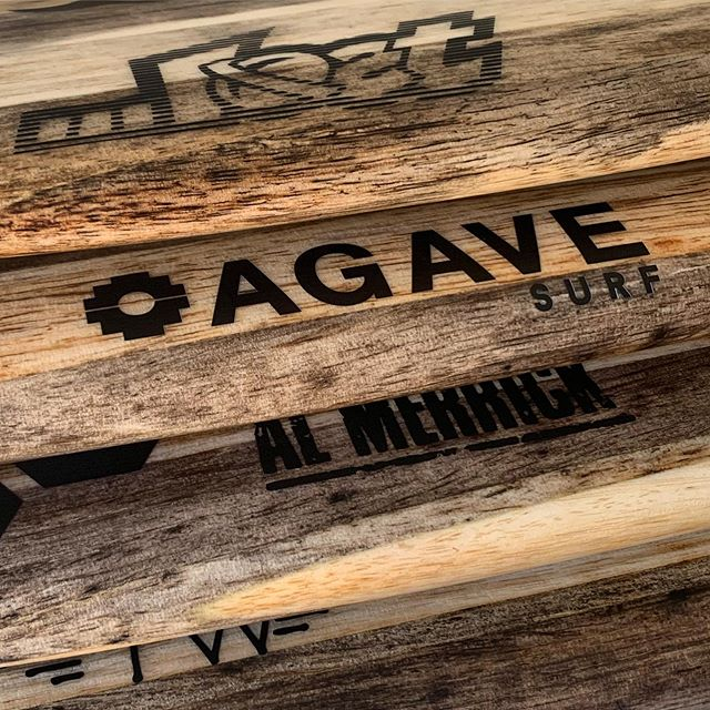 Racks on racks 💸 . . #surf #agave #agavesurf