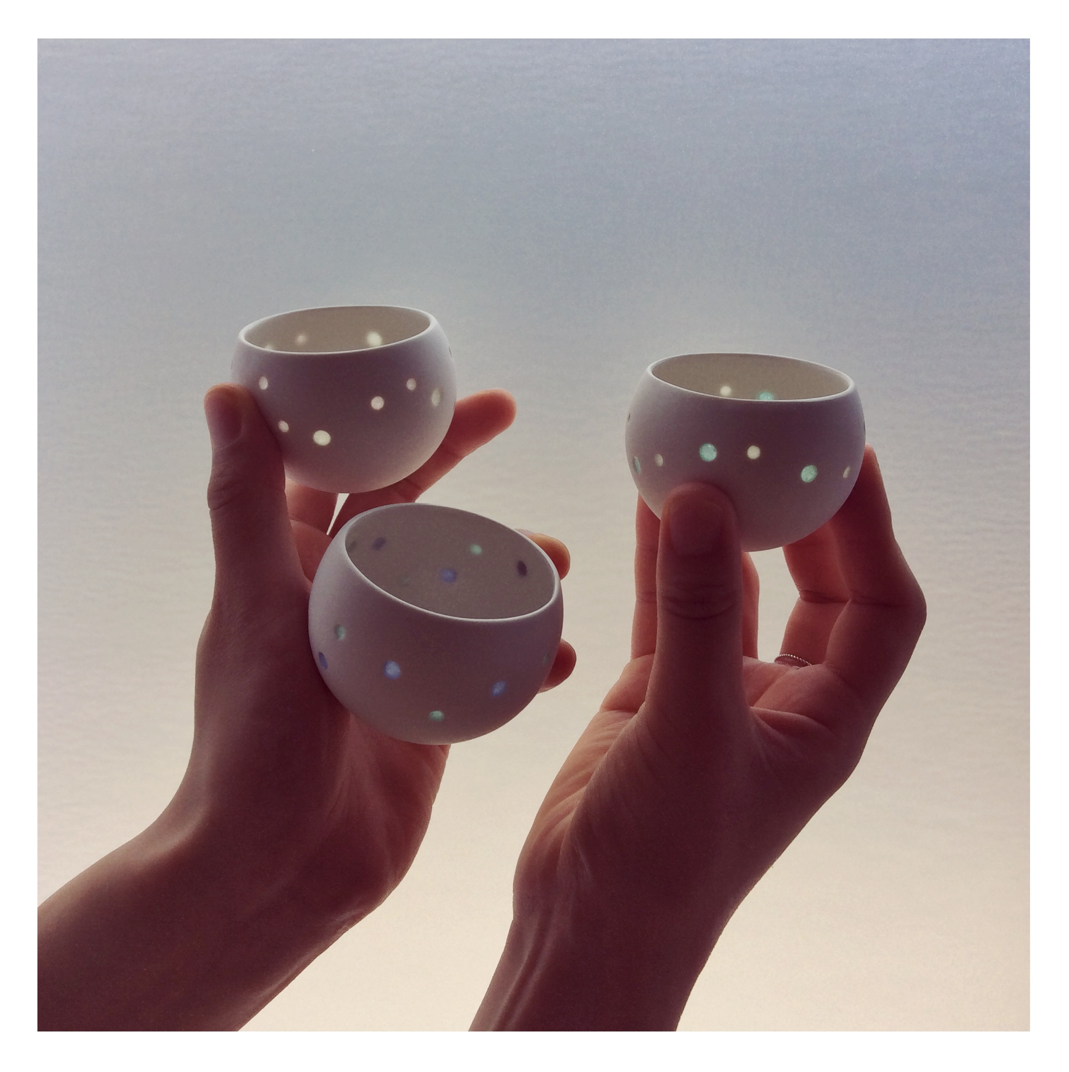 Hotaru (3 color variations) - Wind Bell also Candle Holder
