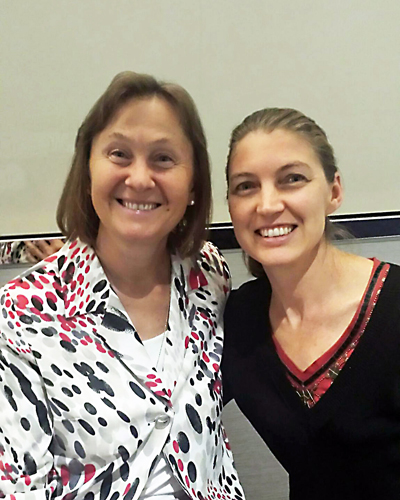Dr Natasha Campbell-McBride and Bronwyn Sach at Sydney GAPS Practitioner Training