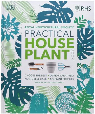 RHS Practical Houseplant Book  by Zia Allaway & Fran Bailey, 2018