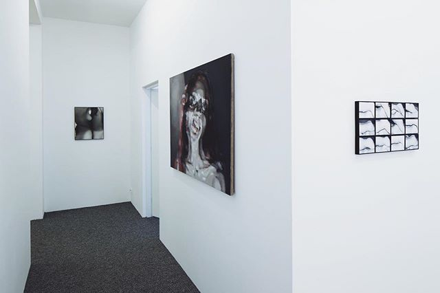 People have noted that this time we have majority female artists at the show.. was it intentional, are we following global trends? (We do have internet in Latvia, you know. And one of the fastest ones in the world. Humblebrag). Artworks by Alvīne Bautra and NataliaLL on the photo. Credits: Ansis Starks