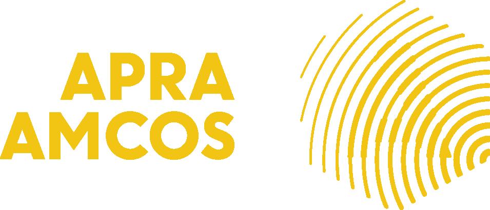 APRA AMCOS horiz right yellow CMYK.png