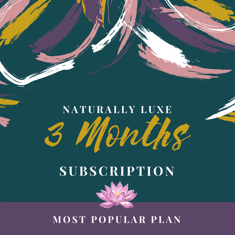 Naturally Luxe Subscription Box Service 3 months.png