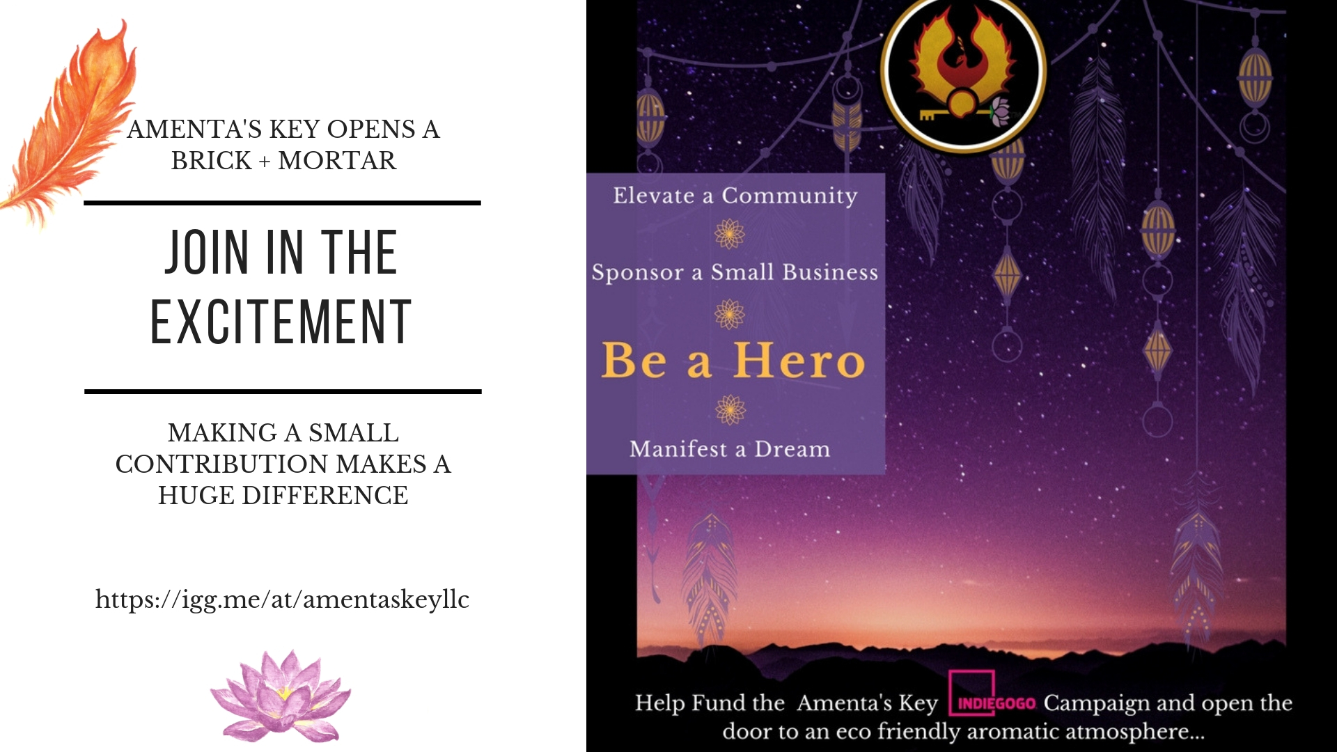 Be a Hero - Sponsor our Small Business
