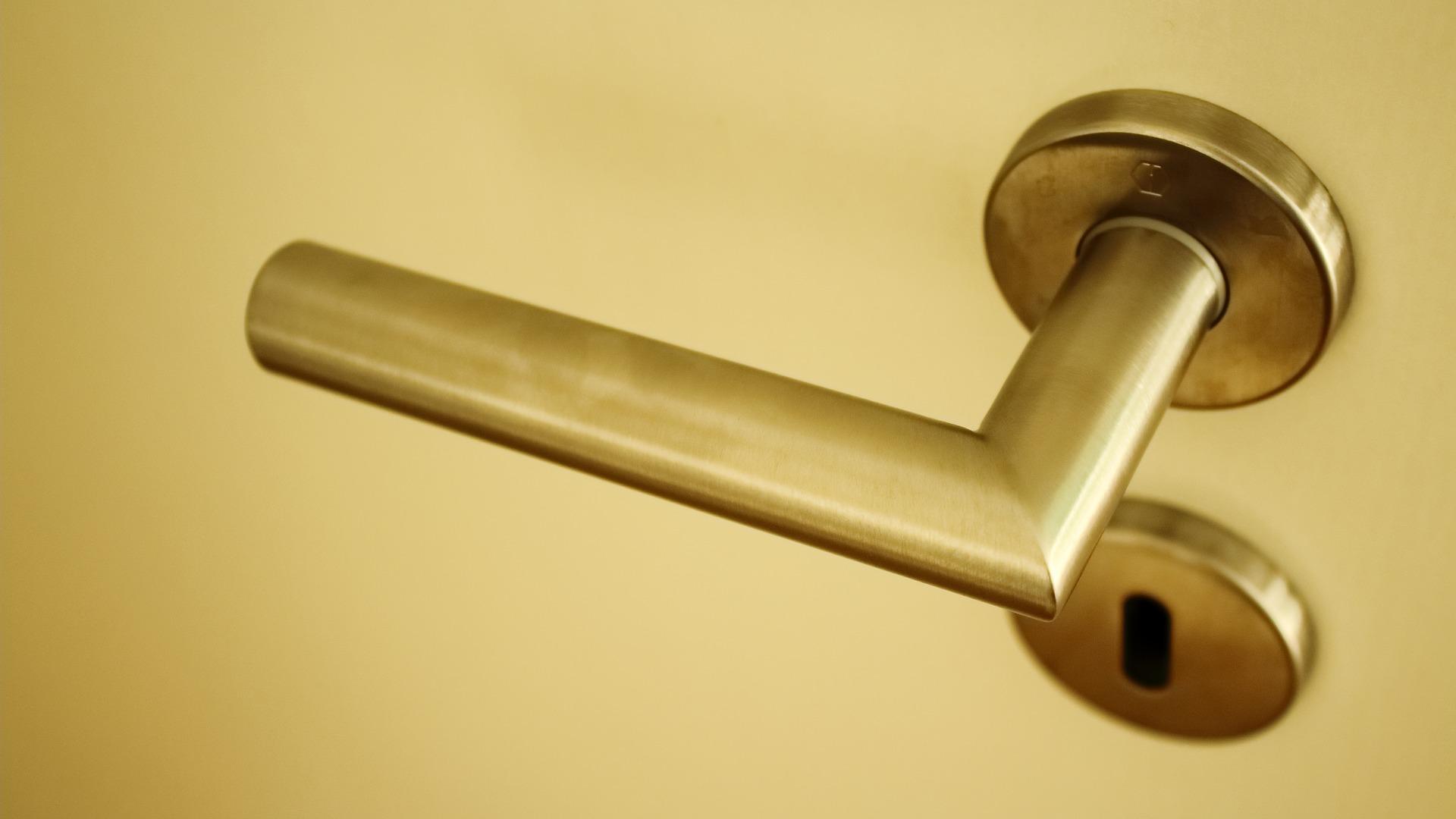 Gold door handle and lock.jpg